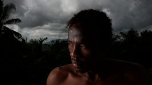 Refugee Abdul Aziz Muhamat, 25, from Sudan, has been in Papua New Guinea for nearly four years.