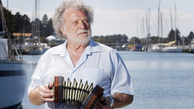 Singer Danny Spooner was a stalwart of the Port Fairy Folk Festival.