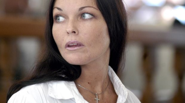 Corby looks to her lawyers during her trial in July 2005. Media attention in the ensuing decade has ensured widespread ...