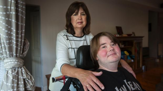 Kerrie Quin, whose teenage son Matthew has muscular dystrophy, says an adult Bear Cottage facility would 'save the lives ...