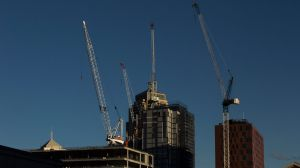 Economists at both CBA and UBS expect residential construction will slow over the coming years.