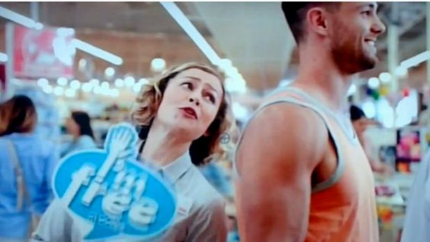"Coles' television commercial ""I'm free"" at least prioritised customer service."