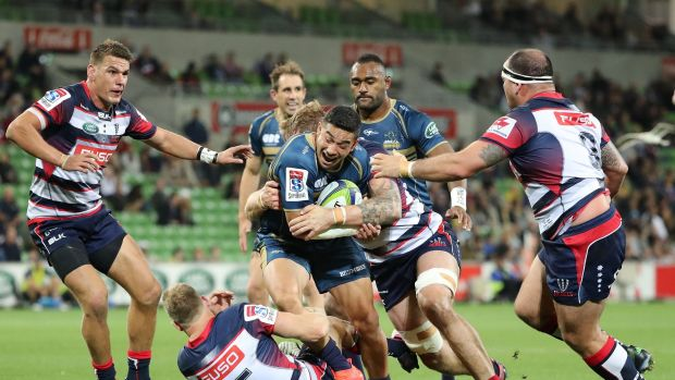 Brumbies playmaker Wharenui Hawera says he hasn't lost the confidence to attack.