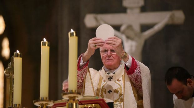 Archbishop Denis Hart believes the confession is sacred.