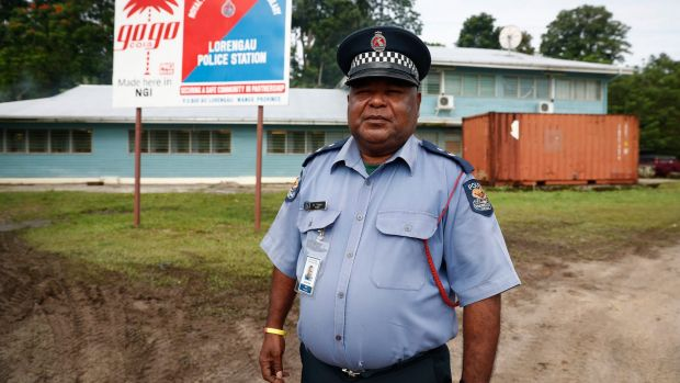 Manus provincial police commander David Yapu says he will call in reinforcements if required.