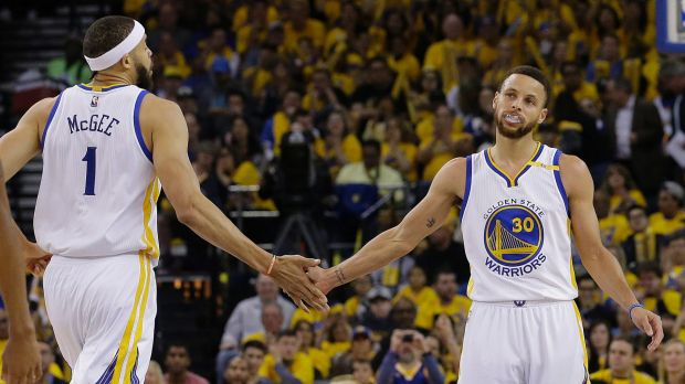 NBA star Steph Curry (right) Steph Curry uninvited himself to the White House.