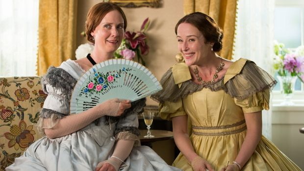 Cynthia Nixon and Jennifer Ehle in <i>A Quiet Passion</i>. The deterioration of poet Emily Dickinson, well played by ...