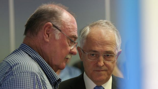 Mr Entsch, pictured with Prime Minister Malcolm Turnbull, supports a free vote on same-sex marriage