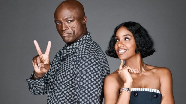 The voices of experience: Seal and Kelly Rowland.