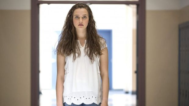 Perth actress Katherine Langford as Hannah Baker in <i>13 Reasons Why</i>.