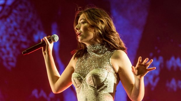 Lorde performs at Coachella Music & Arts Festival.