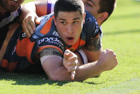 Mid-season move: Mitchell Moses is one of several players to have switched clubs during 2017.