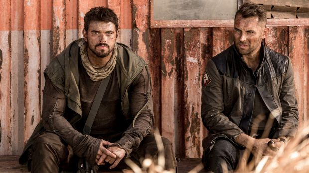 From mismatched to comrades: Kellan Lutz (left) and Daniel MacPherson.