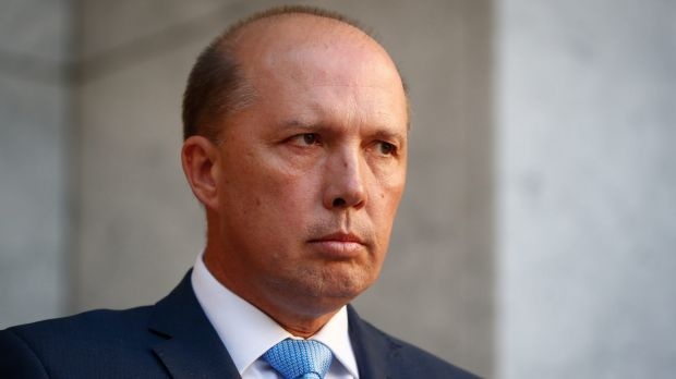 "Immigration Minister Peter Dutton previously said the October 1 deadline was targeting ""fake refugees""."