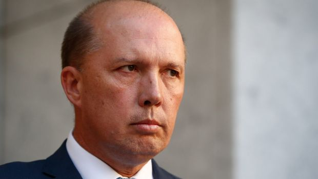 """Immigration Minister Peter Dutton previously said the October 1 deadline was targeting """"fake refugees""""."""