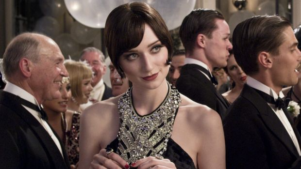 Elizabeth Debicki as Jordan Baker in <i>The Great Gatsby</i>.