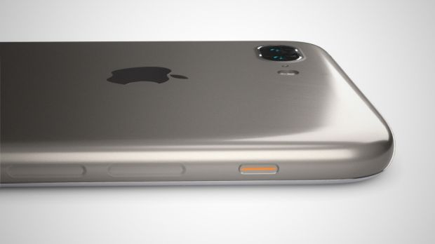 A rendering of the new iPhone design by 3D artist Martin Hajek.