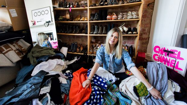 Jess Dempsey is turning to a private sale to clear her wardrobe as being a working mother she says she has no time for ...