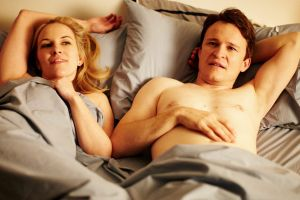 Want to go again? Kate Mulvany and Damon Herriman in a scene from The Little Death, which has been remade twice, with ...