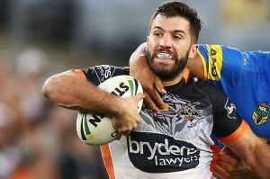 Big finish: James Tedesco wants to leave his mark at the Tigers with a strong finish to the season.