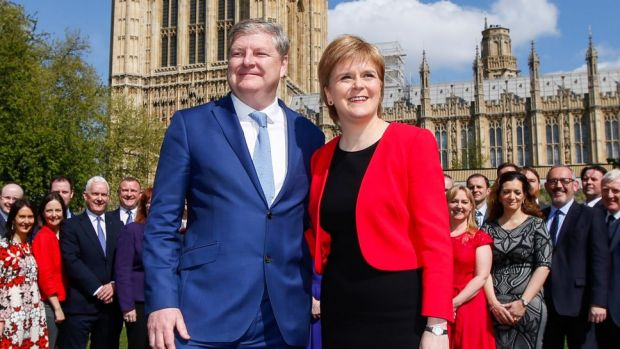 """Huge political miscalculation"": Nicola Sturgeon, Scotland's First Minister, with Scottish National Party deputy leader ..."