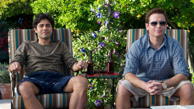 Adrian Grenier and Kevin Connolly in Entourage.