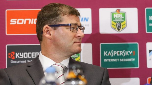 Former Manly CEO Joe Kelly fronted last year's post-match press  conference at Canberra Stadium with the Sea Eagles ...