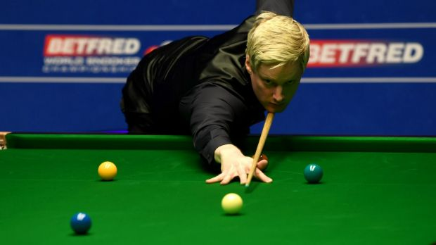 Former world champion Neil Robertson.