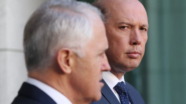 Senior minister Peter Dutton has assured jaded Liberal voters that both he and fellow leading conservative Mathias ...