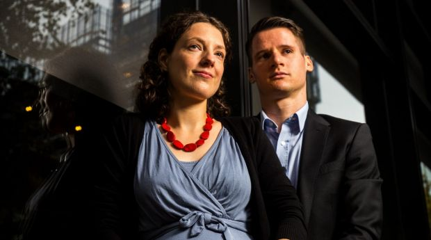 Melbourne-based couple Nina and Perrin Wilkins have been caught up in the changes to citizenship rules unveiled on Thursday.