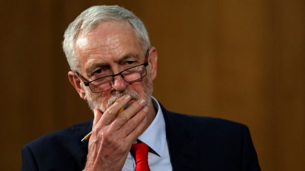 """All I can say is, in 2015, almost exactly two years ago, I was given 200-to-one as an outside chance"": Jeremy Corbyn."