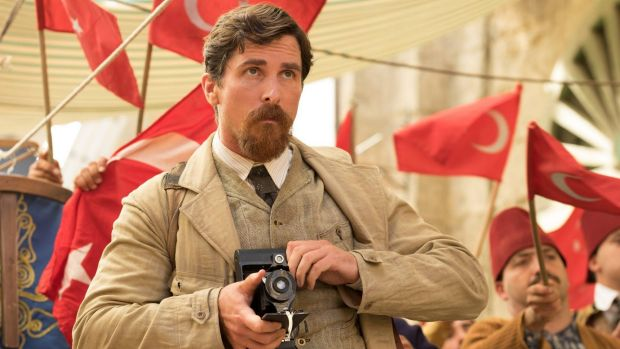 Christian Bale plays an Associated Press photographer in The Promise.