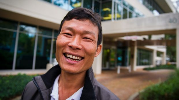 ACT school cleaner Htoo Ywai was happy with Friday's result and thanked the union for its support during a two-year ...
