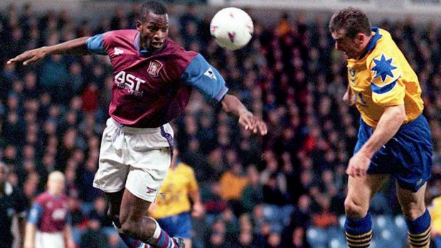 Respected figure: Ugo Ehiogu in Aston Villa colours.