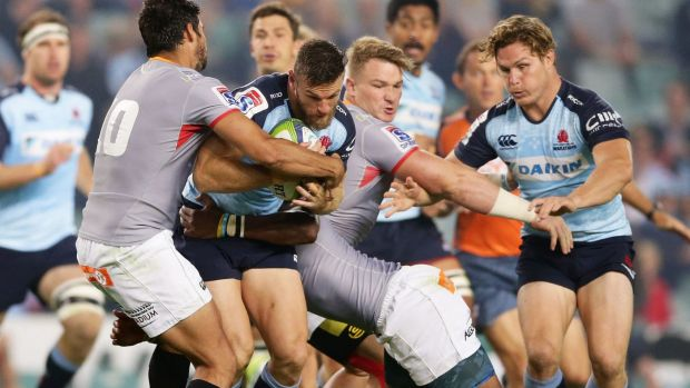 Nadir: Rob Horne is wrapped up on a horror night for the locals