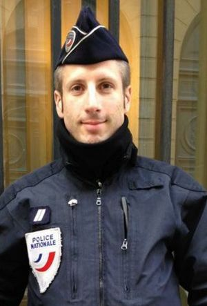 French police officer Xavier Jugele.