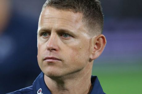 Steely approach: Carlton coach Brendon Bolton.
