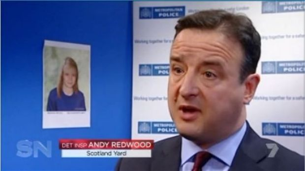 Scotland Yard's Andy Redwood believes Maddie McCann is still alive.