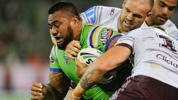 Raiders legends Glenn Lazurus and Jason Croker have called for Shannon Boyd and Junior Paulo [pictured] to make their ...