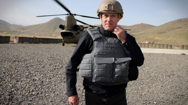Prime Minister Malcolm Turnbull, pictured during a recent visit to troops in Afghanistan.