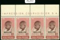 A mystery Australian collector paid $855,000 for these four stamps at auction last week.