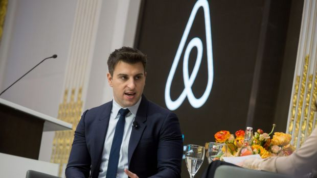 Brian Chesky, chief executive officer and co-founder of Airbnb.