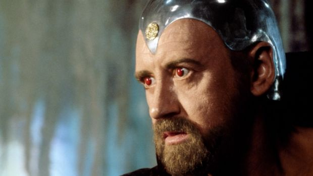 Nicol Williamson in the 1981 film <i>Excalibur</i>.