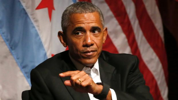Former President Barack Obama will get paid $US400,000 for an hour's lunchtime speech to the Cantor Fitzgerald Conference.