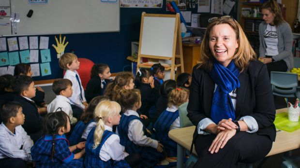 Canberra Christian School principal Bree Hills wants an environment where students are excited about going to school.