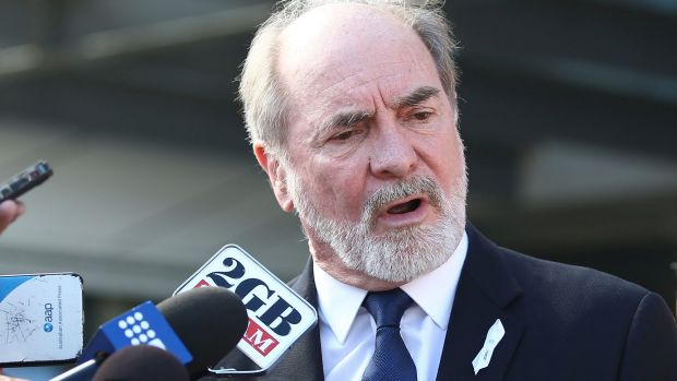 Facing another revolt: Australian Rugby League Commission chairman John Grant.