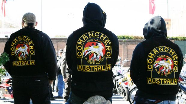 The feud is believed to be between rival Commancheros and Nomads bikie gangs.