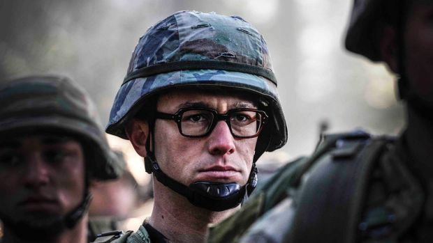 Joseph Gordon Levitt in <i>Snowden</i>: Oliver Stone considers it an important film for seeking to tell the truth about ...