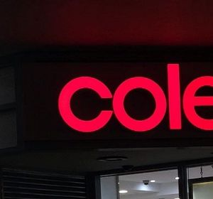 Coles' same-store sales growth for the financial year slowed and total revenue has been flat.