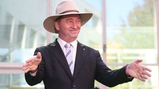 Deputy Prime Minister Barnaby Joyce has been the driving force behind the pesticides authority's forced move to Armidale.